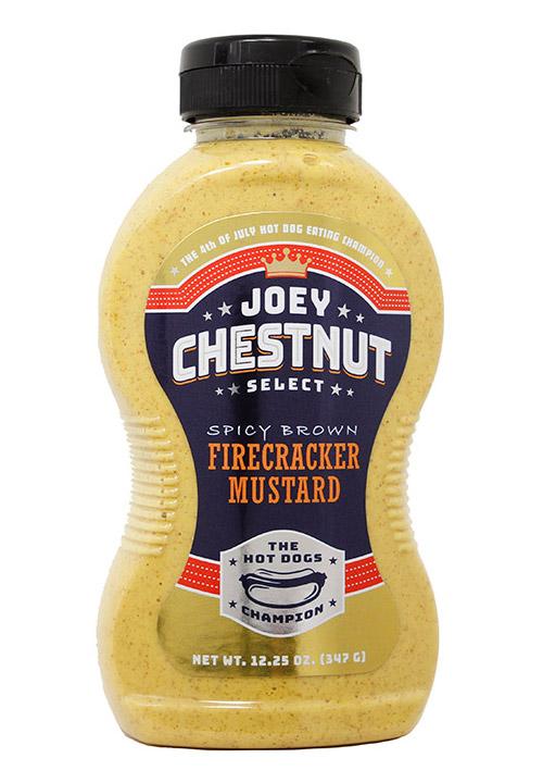 Joey Chestnut Spicy Brown Firecracker Mustard