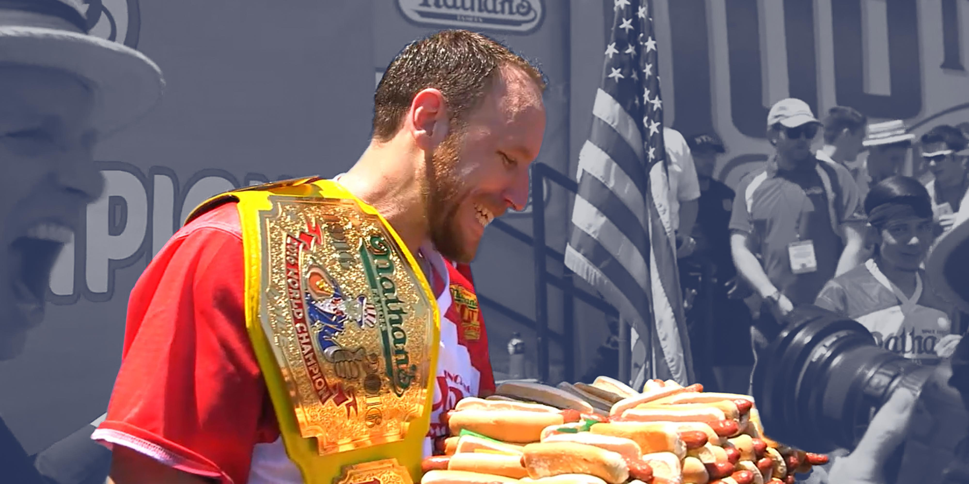 Joey Chestnut Worlds Greatest Eater