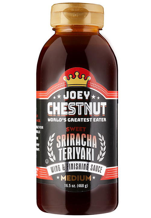 Joey Chestnut Sweet Sriracha Teriyaki Wing & Finishing Sauce